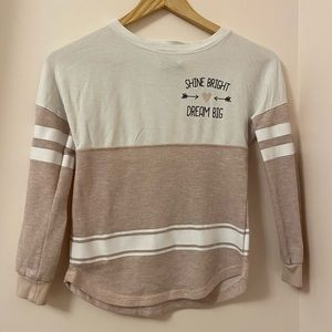 Miss Chevious long sleeve sweater. Size. M girls.